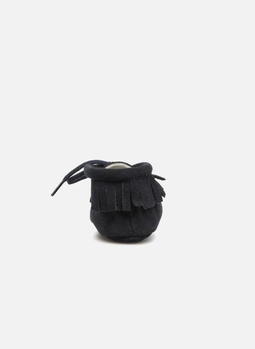 Hjemmesko Bout'Chou Chaussures à franges Blå Se fra højre