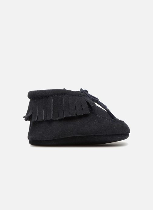 Pantuflas Bout'Chou Chaussures à franges Azul vistra trasera