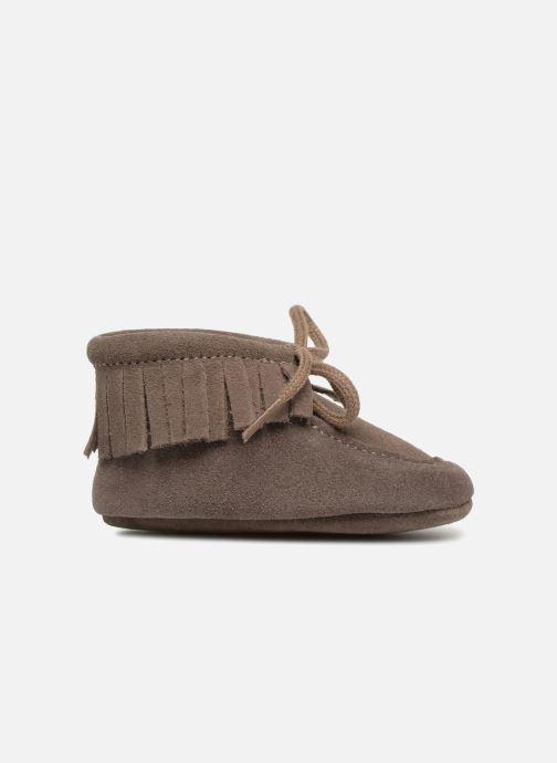 Hausschuhe Bout'Chou Chaussures à franges braun ansicht von hinten