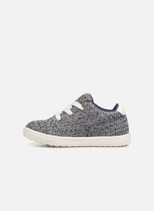 Sneakers Bout'Chou Baskets à lacets bébé Grigio immagine frontale