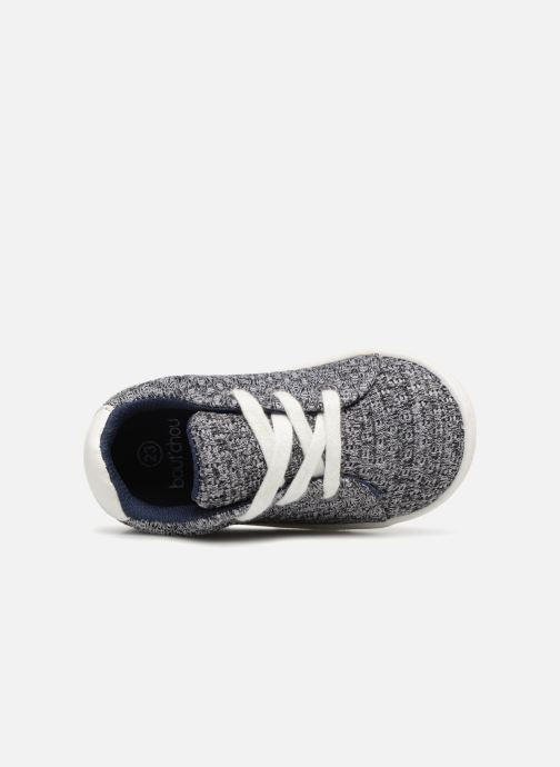 Sneakers Bout'Chou Baskets à lacets bébé Grigio immagine sinistra