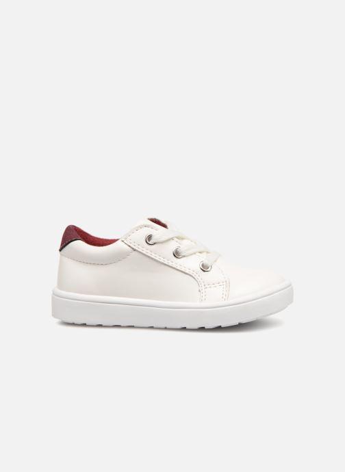 Sneaker Bout'Chou Basket à zip bébé weiß ansicht von hinten