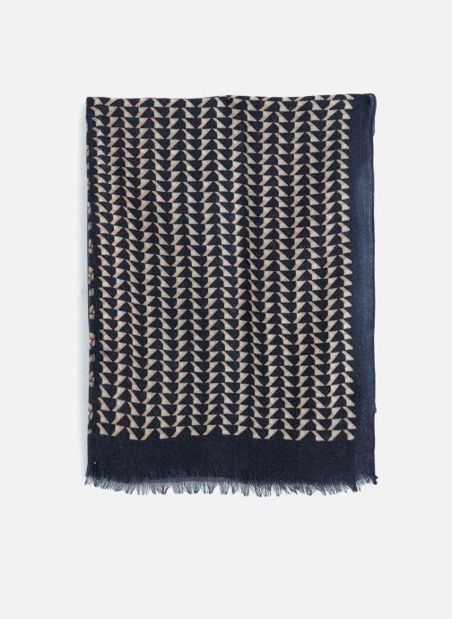 Sjaal Monoprix Femme Etole patchwork Blauw model