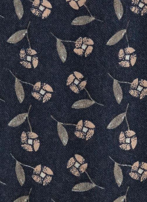 Sjaal Monoprix Femme Etole patchwork Blauw voorkant