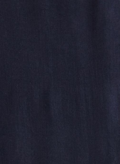 Divers Monoprix Femme Etole unie Bleu vue portées chaussures