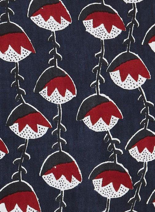 Divers Monoprix Femme Etole imprimée tulipe Blauw voorkant