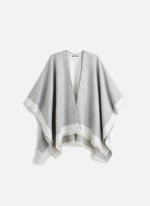 Sonstiges Monoprix Femme Poncho bicolore grau detaillierte ansicht/modell