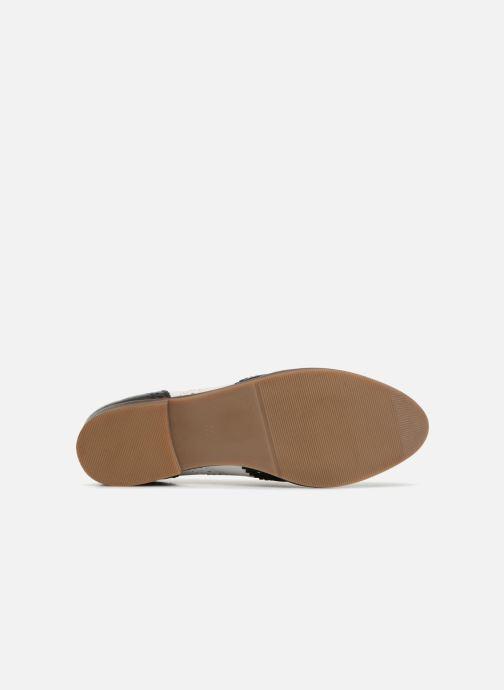 Monoprix Femme Derby en cuir biFarbee (weiß) - Schnürschuhe Schnürschuhe Schnürschuhe bei Más cómodo 015447