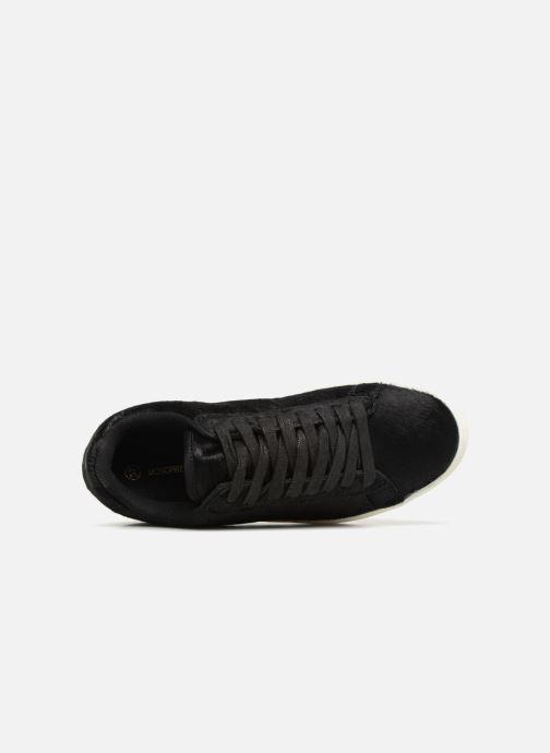 Baskets Monoprix Femme Baskets basses à lacets Noir vue gauche