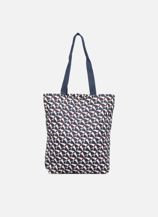 Sacs à main Monoprix Femme Totebag hirondelles Bleu vue détail/paire