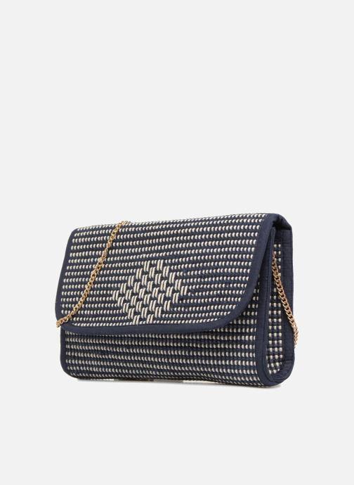 Handtassen Monoprix Femme Sac à rabat Blauw model