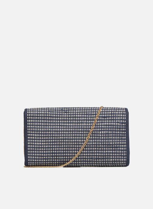 Handtassen Monoprix Femme Sac à rabat Blauw voorkant