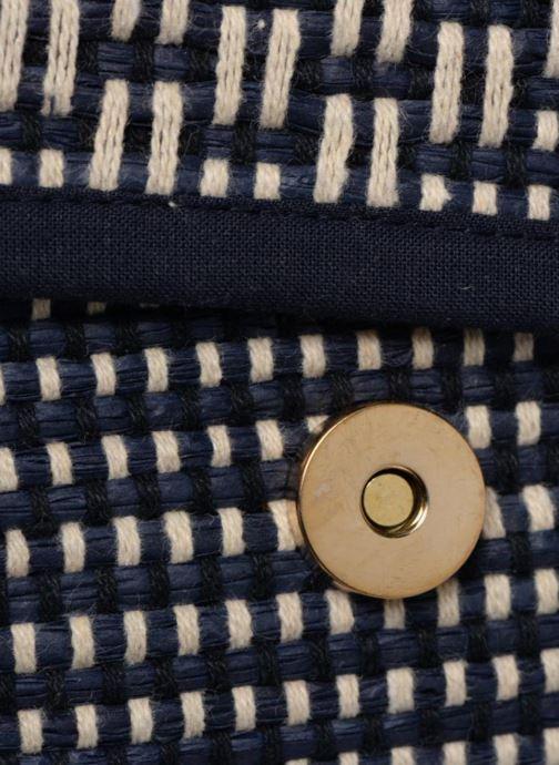 Handtassen Monoprix Femme Sac à rabat Blauw links