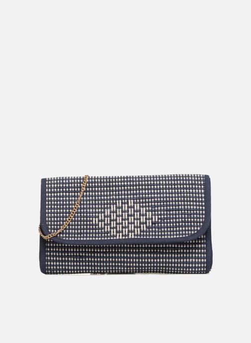 Handtassen Monoprix Femme Sac à rabat Blauw detail