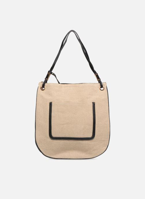 Handtaschen Monoprix Femme Sac besace beige detaillierte ansicht/modell