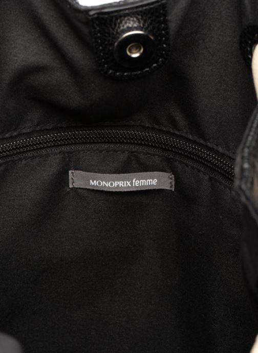 Rugzakken Monoprix Femme Sac à dos Zwart achterkant