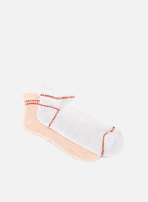 Sokken en panty's Monoprix Fit Mini-socquettes de sport fille x2 Wit detail