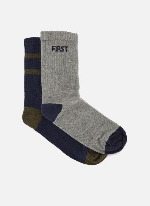 Socken & Strumpfhosen Monoprix Fit Chaussettes de sport garçon x2 blau detaillierte ansicht/modell