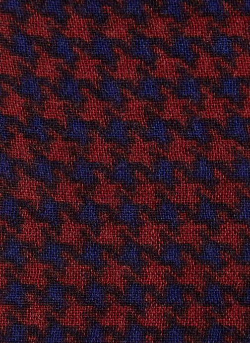 Schal Monoprix Homme Chèche en coton et laine rot ansicht von vorne
