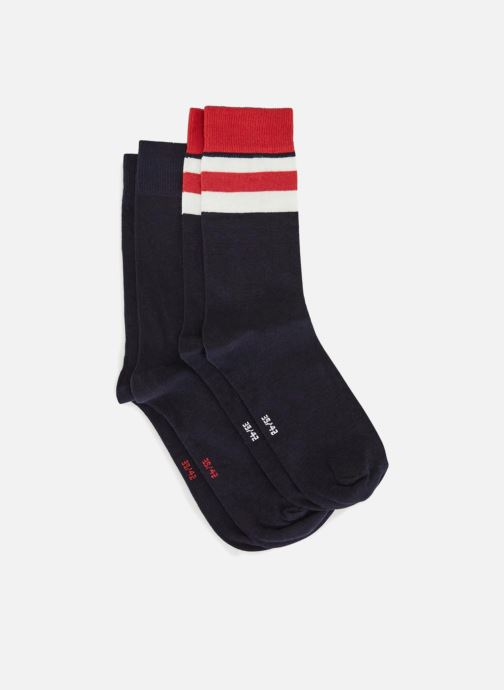 Socken & Strumpfhosen Monoprix Homme Lot de 2 paires de chaussettes mehrfarbig schuhe getragen