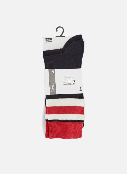 Chaussettes et collants Monoprix Homme Lot de 2 paires de chaussettes Multicolore vue détail/paire