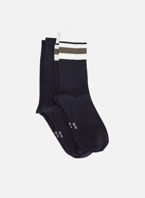 Socken & Strumpfhosen Monoprix Homme Lot de 2 paires de chaussettes blau schuhe getragen
