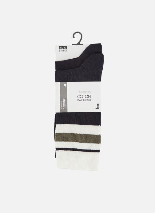 Socken & Strumpfhosen Monoprix Homme Lot de 2 paires de chaussettes blau detaillierte ansicht/modell