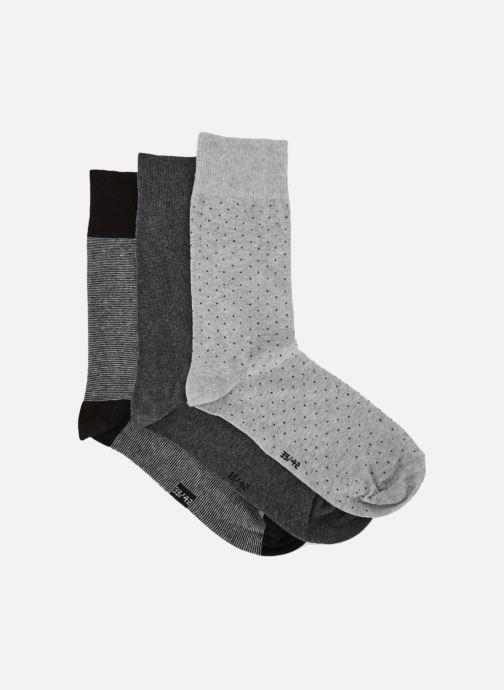 Socken & Strumpfhosen Monoprix Homme Lot de 3 paires de chaussettes grau schuhe getragen