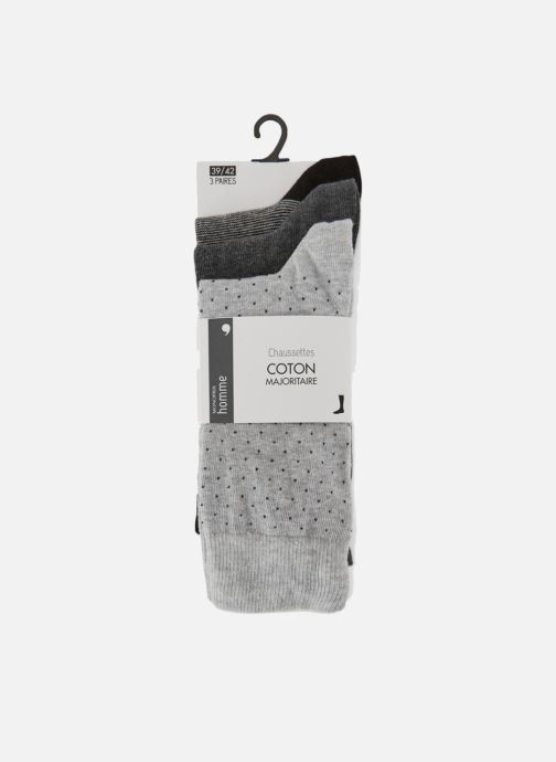 Socken & Strumpfhosen Monoprix Homme Lot de 3 paires de chaussettes grau detaillierte ansicht/modell
