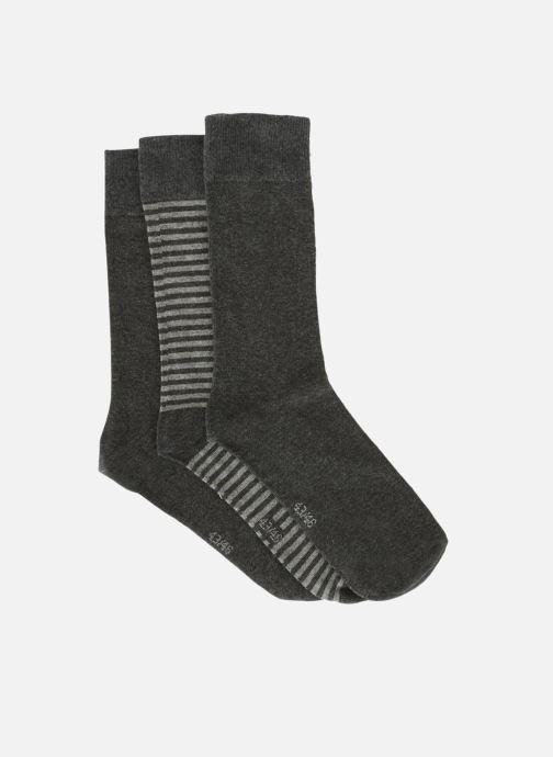 Socken & Strumpfhosen Monoprix Homme Lot de 3 paires de chaussettes rayures blau schuhe getragen