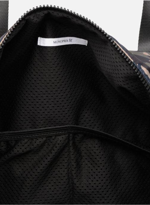 Sporttassen Monoprix Homme Sac de sport Blauw achterkant