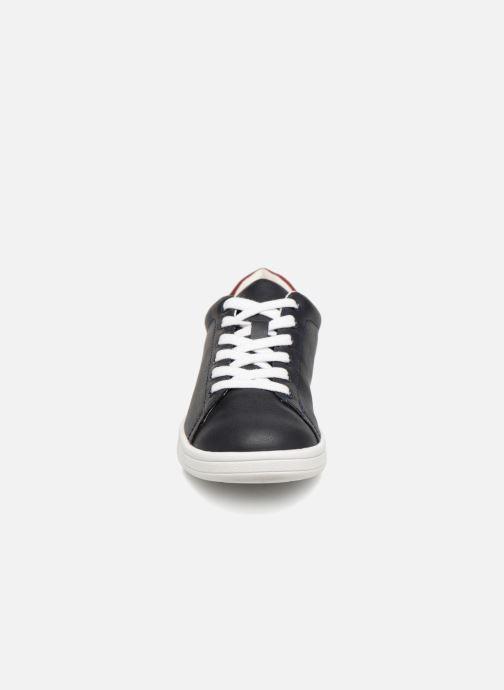 Sneaker Monoprix Kids Baskets basses à lacets blau schuhe getragen
