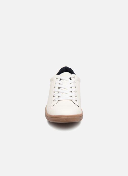 Baskets Monoprix Kids Baskets basses à lacets Blanc vue portées chaussures