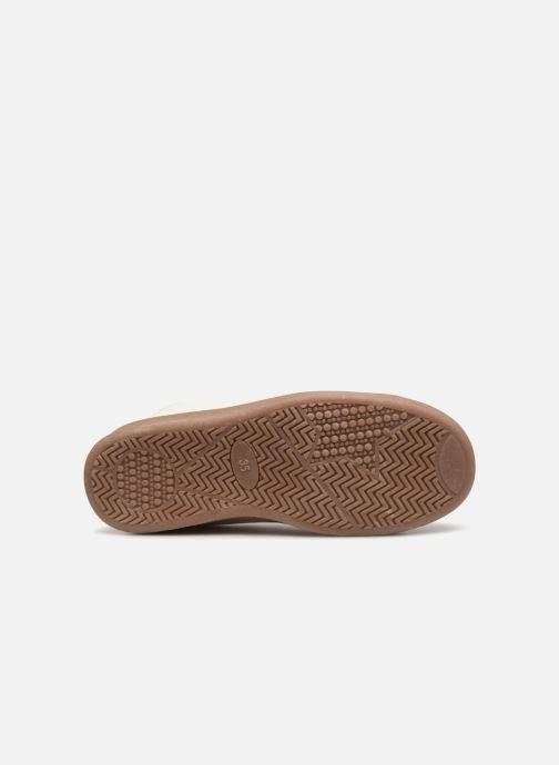 Sneakers Monoprix Kids Baskets basses à lacets Wit boven