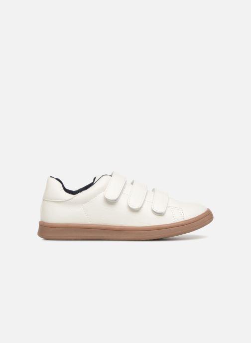 Sneakers Monoprix Kids Baskets basses à scratch Wit achterkant