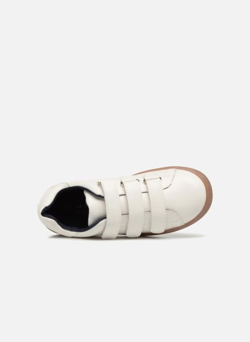 Sneakers Monoprix Kids Baskets basses à scratch Wit links