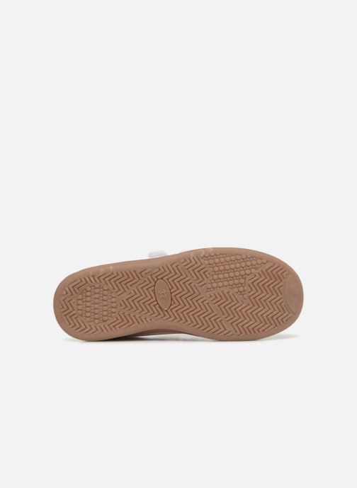Trainers Monoprix Kids Baskets basses à scratch White view from above