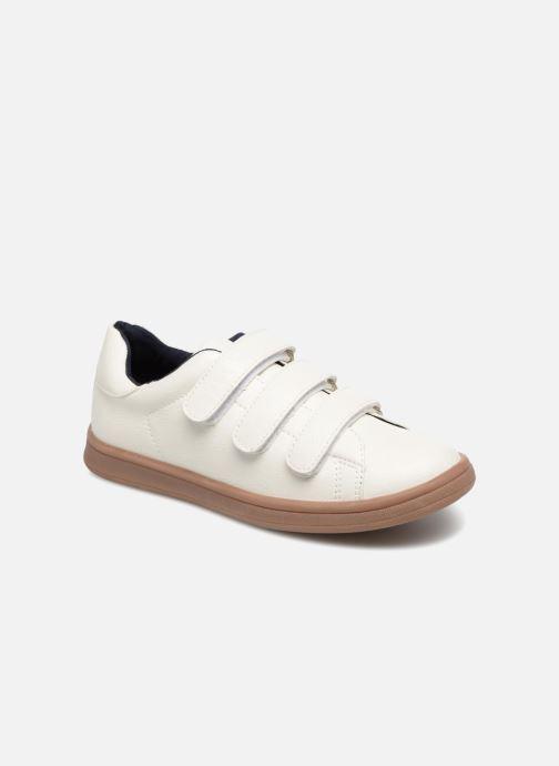 Sneakers Monoprix Kids Baskets basses à scratch Wit detail