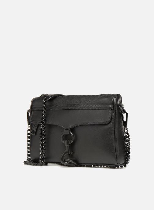 Handtassen Rebecca Minkoff MINI MAC OIL MALAGA Zwart model