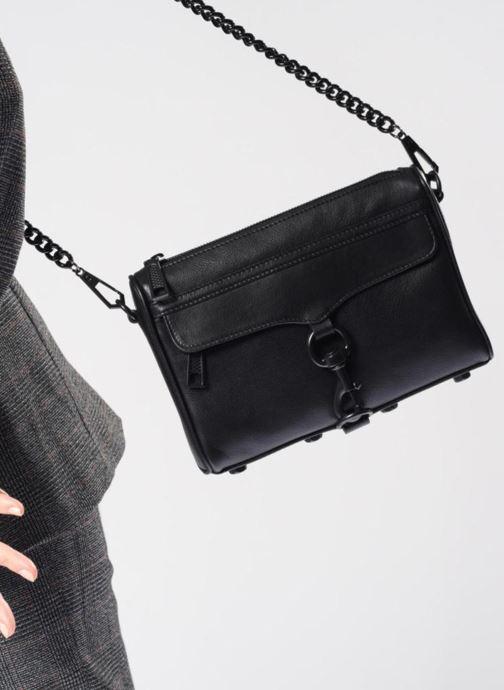 Handtassen Rebecca Minkoff MINI MAC OIL MALAGA Zwart onder