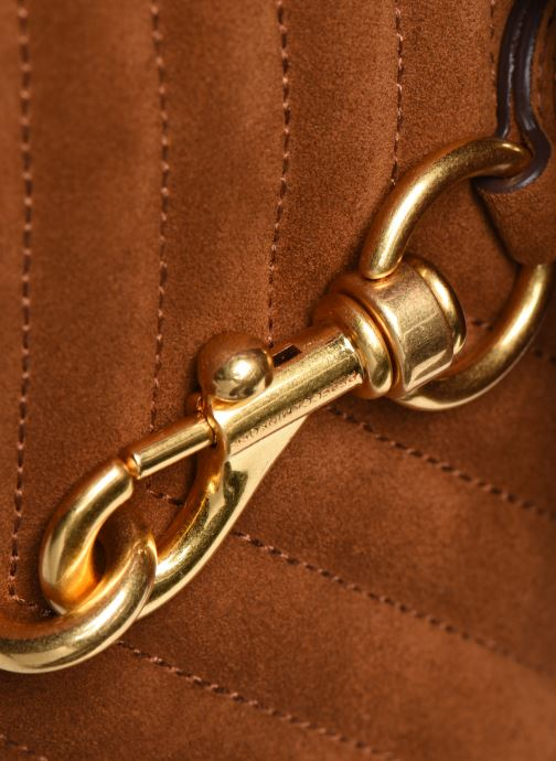 Bolsos de mano Rebecca Minkoff EDIE XBODY Marrón vista lateral izquierda