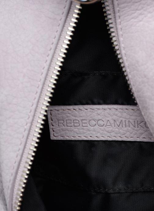 Rucksacks Rebecca Minkoff CONV MINI JULIAN BACKPACK Purple back view