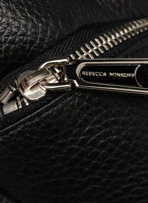 Mochilas Rebecca Minkoff CONV MINI JULIAN BACKPACK Negro vista lateral izquierda