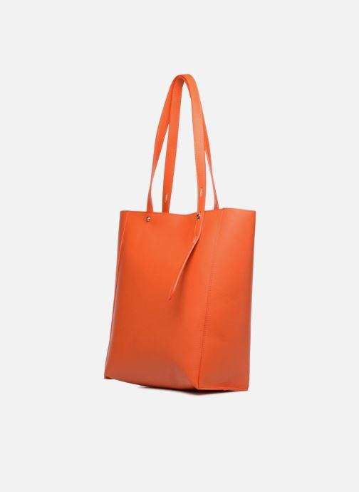 Handtassen Rebecca Minkoff STELLA N/S TOTE Oranje rechts