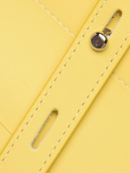 Bolsos de mano Rebecca Minkoff STELLA N/S TOTE Amarillo vista lateral izquierda