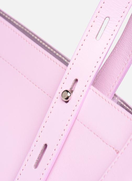 Bolsos de mano Rebecca Minkoff STELLA N/S TOTE Rosa vista lateral izquierda