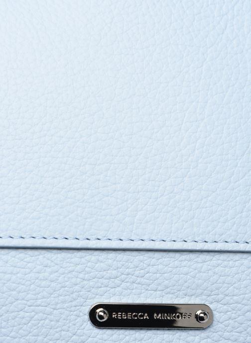 Bolsos de mano Rebecca Minkoff STELLA N/S TOTE Azul vista lateral izquierda