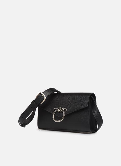 Pelletteria Rebecca Minkoff JEAN BELT BAG Nero modello indossato