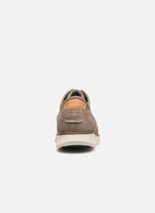 Chaussures à lacets Kickers Kickspot Beige vue droite