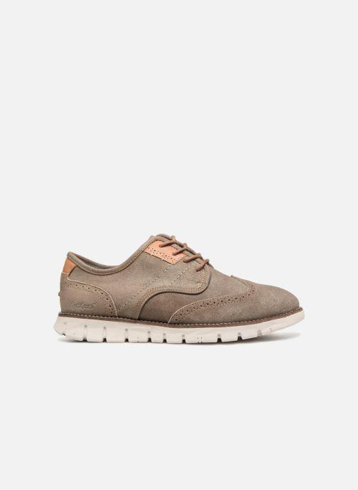 Chaussures à lacets Kickers Kickspot Beige vue derrière
